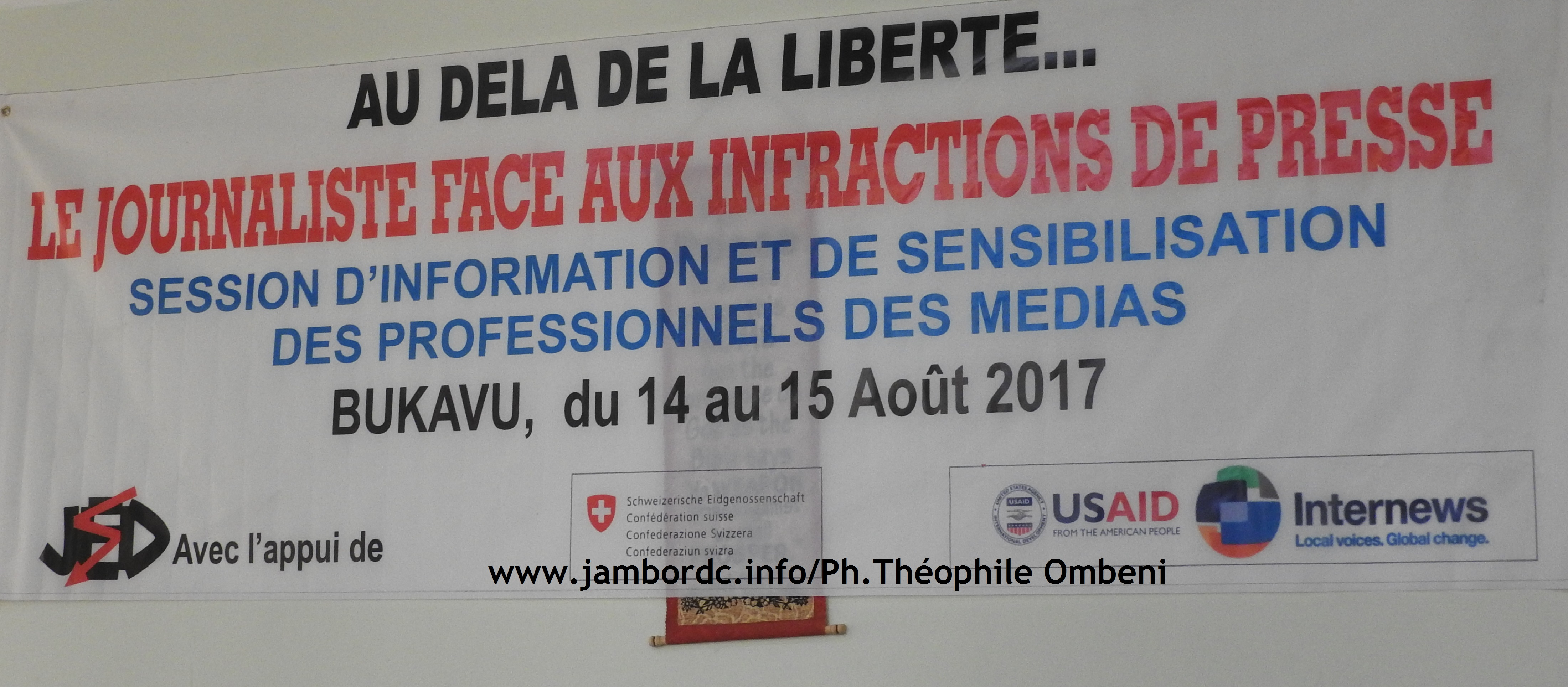 « Les journalistes doivent respecter la loi et les limites de la liberté de presse », dixit Scott Mayemba (JED)
