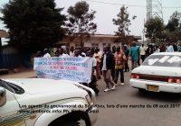 Sud-Kivu : Les grévistes mécontents de l'absence du Vice-gouverneur