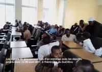 Bukavu : L'hémicycle assiégé par les grévistes du gouvernorat