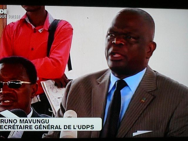 Elections en RDC : Bruno Mavungu demande aux opposants de quitter les institutions pour faire pression sur le pouvoir