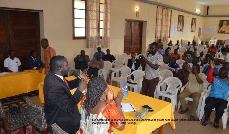 Sud Kivu : La société civile envisage déposer une plainte contre le  Maire de la ville de Bukavu
