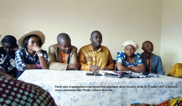 Sud-Kivu : La Société civile  acte l'élection du nouveau Gouverneur