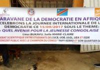 Journée internationale de la démocratie : La ville de Bukavu abrite le lancement