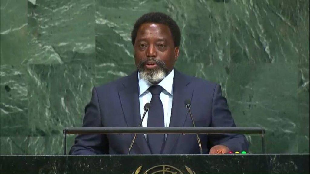 A l'ONU : Joseph Kabila confirme les élections, s'oppose à l'ingérence extérieure