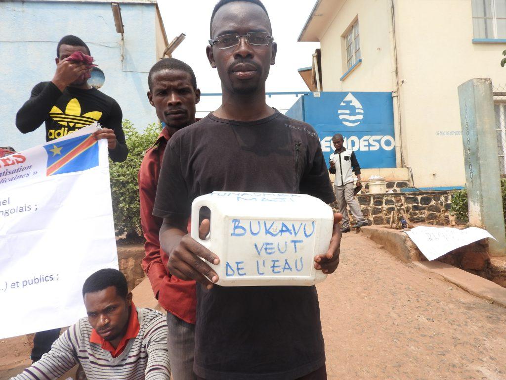 « Bukavu veut de l'eau », disent les mouvements citoyens