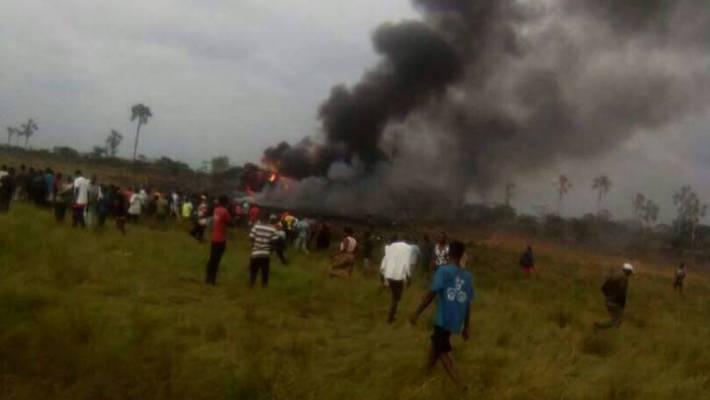 Kinshasa : Crash d'un avion militaire, le bilan officiel fait état de 8 morts