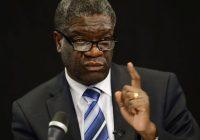 Transition sans Kabila : « Il faudrait que le peuple comprenne mon raisonnement », dixit Dr Dénis Mukwege