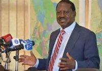Présidentielle au Kenya : Raila Odinga désiste