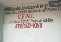 Députation provinciale : 973 candidatures provisoires reçues à la CENI Sud-Kivu