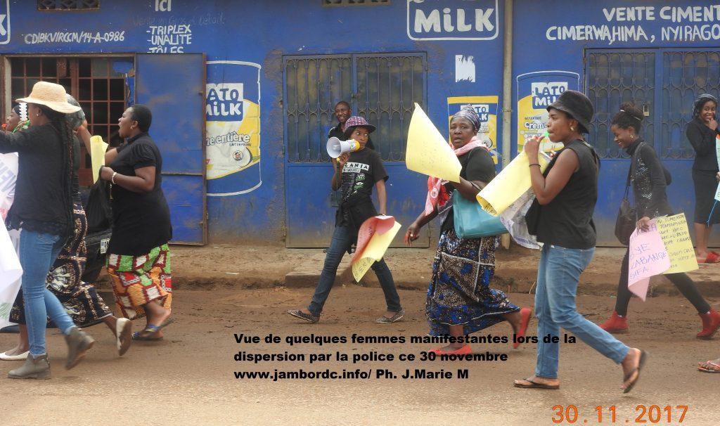 Bukavu: La marche des femmes de l'opposition dispersée par la police