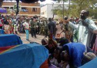 Sud-Kivu : 4 militaires de la 33e Région militaire inhumés ce 13 novembre à Bukavu