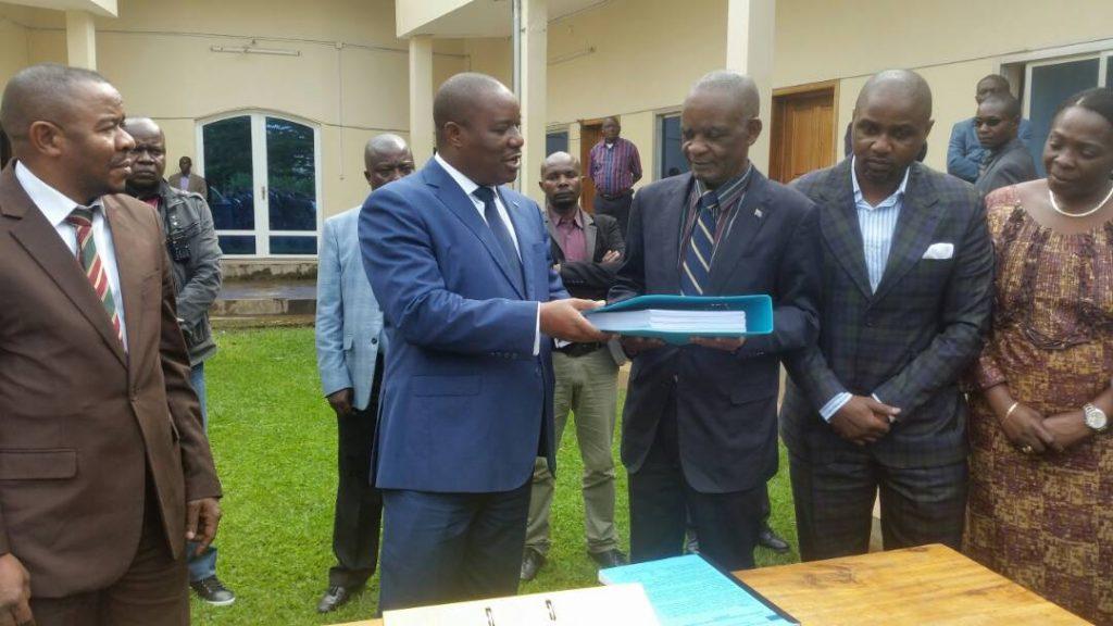 Sud-Kivu : Le projet d'édit budgétaire 2018 a été déposé à l'Assemblée provinciale