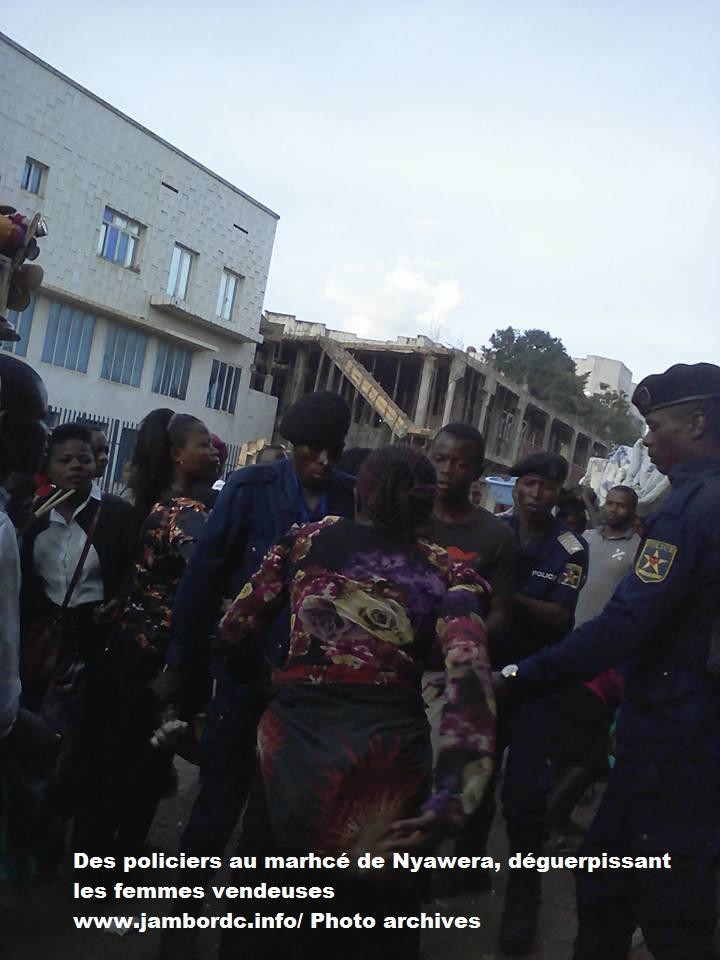 Bukavu : Une vendeuse des tilapias se bagarre avec un policier à Nyawera