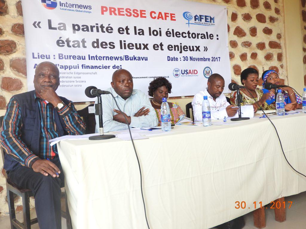 Parité et loi électorale : L'AFEM confirme un véritable recul dans la promotion de la parité au Sud-Kivu