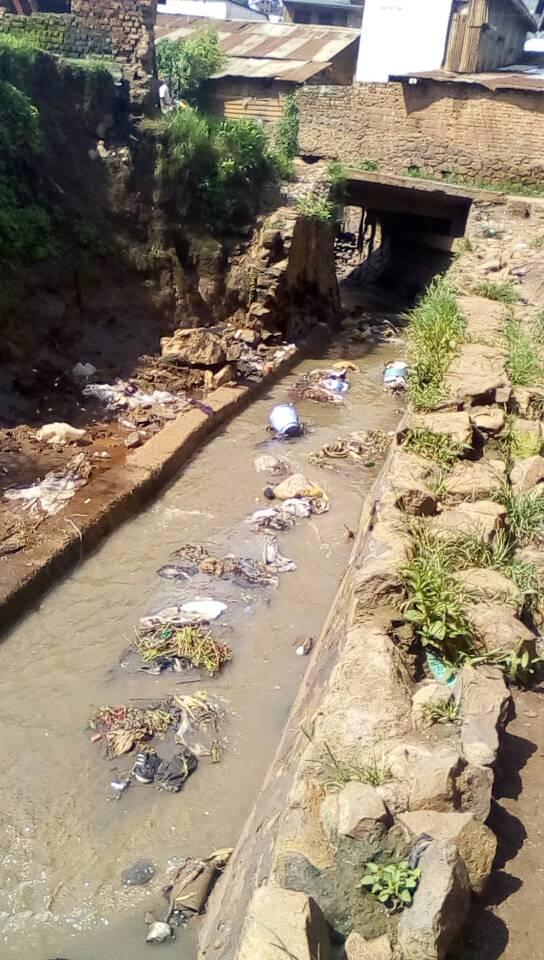 Bukavu : La  rivière Kauwa, un  danger ignoré en saison des pluies