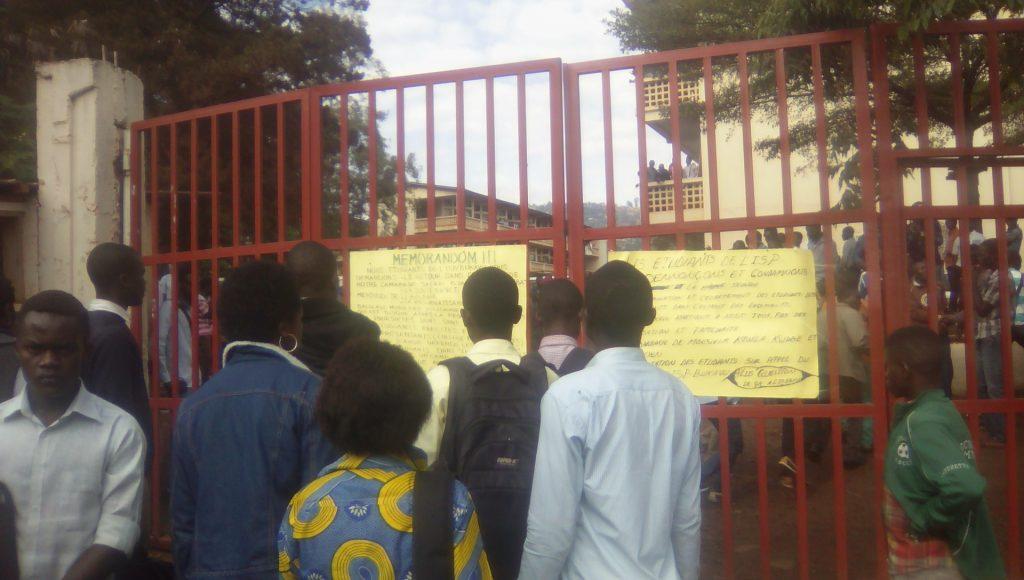 ISP-Bukavu : Les étudiants organisent une marche pour exiger la reprise des cours