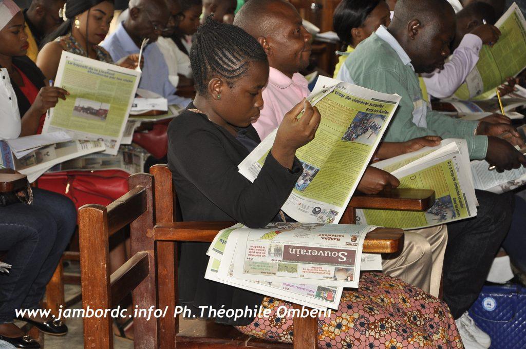 Bukavu : Le journal le Souverain tient une discussion académique avec les étudiants
