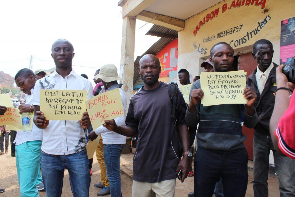 Bukavu : La marche du Rassemblement étouffée dans l'œuf