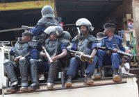 BUKAVU : Un dispositif de la police visible aux coins chauds de la ville ce 19 décembre