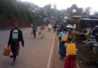 Bukavu : Pénurie en eau potable, voici le casse-tête des habitants de Muhungu
