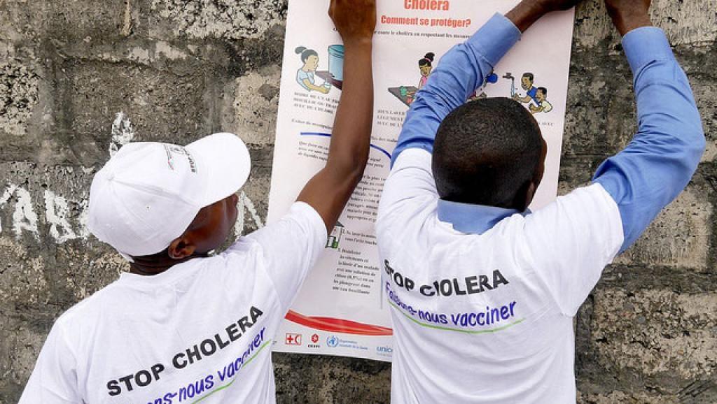 Santé: Des cas de décès de choléra, MSF ouvre un centre de traitement à Kinshasa