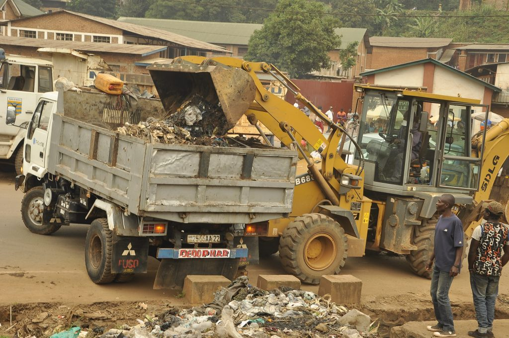 Bukavu : La SOA lance la campagne Bukavu ville propre