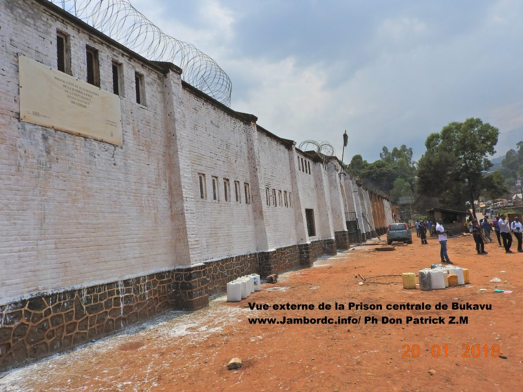 SUD-KIVU : KJN fait briller la Prison centrale de Bukavu