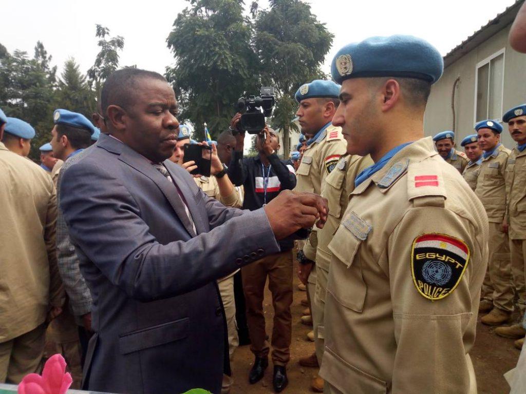 Le Sud-Kivu salue la bravoure des contingents égyptiens de la Monusco