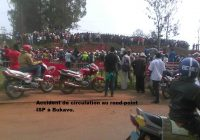 Accident à Bukavu : Des motards bloquent la circulation