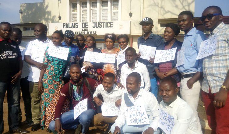 Sud-Kivu : Des professionnels des médias réclament la libération de la journaliste Iranga Nshombo
