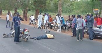 Flash : Un motard décapité dans un accident à Bukavu