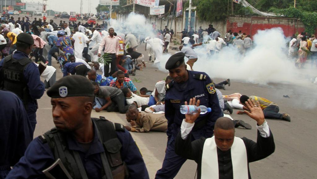Bilan marches 31 décembre et 21 janvier : « 14 morts, 65 blessés, 40 cas d'arrestations, tortures…10 cas d'extorsion…» Mushobekwa