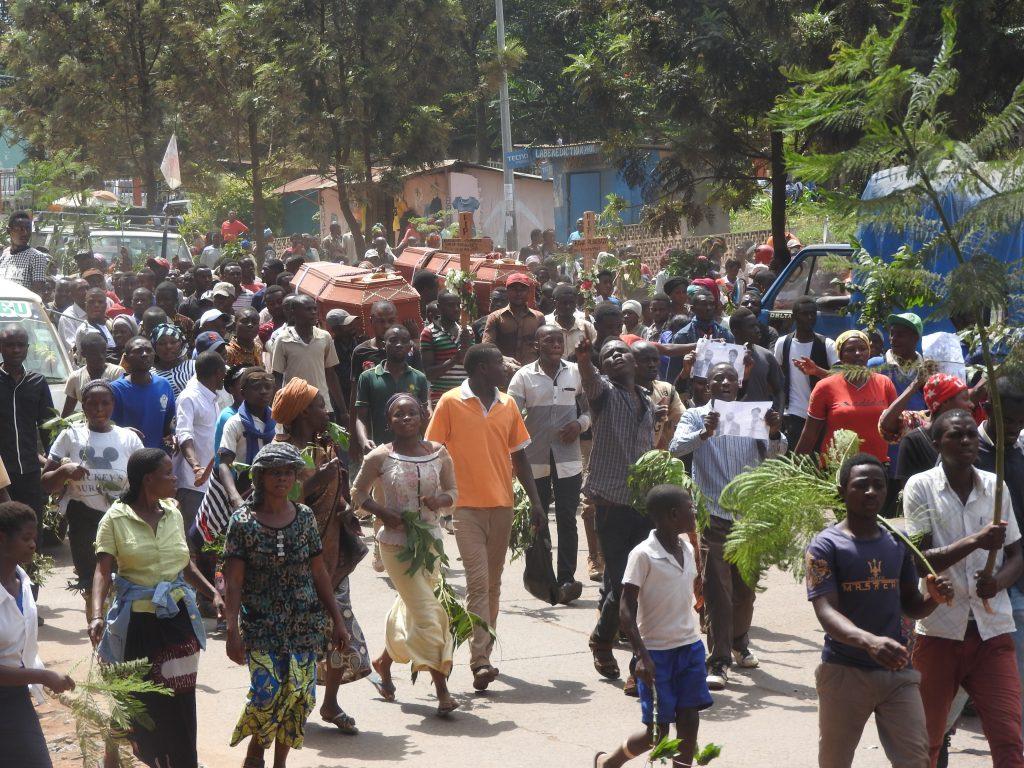 Bukavu : Ça tire de partout