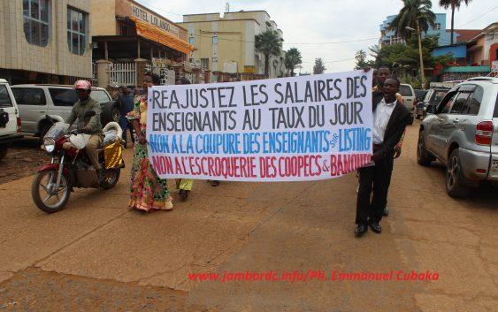 EPSP (Sud-Kivu) : Le SYNECATH observe la journée ville-morte mardi 20 février et sera dans la rue le 1e mars prochain