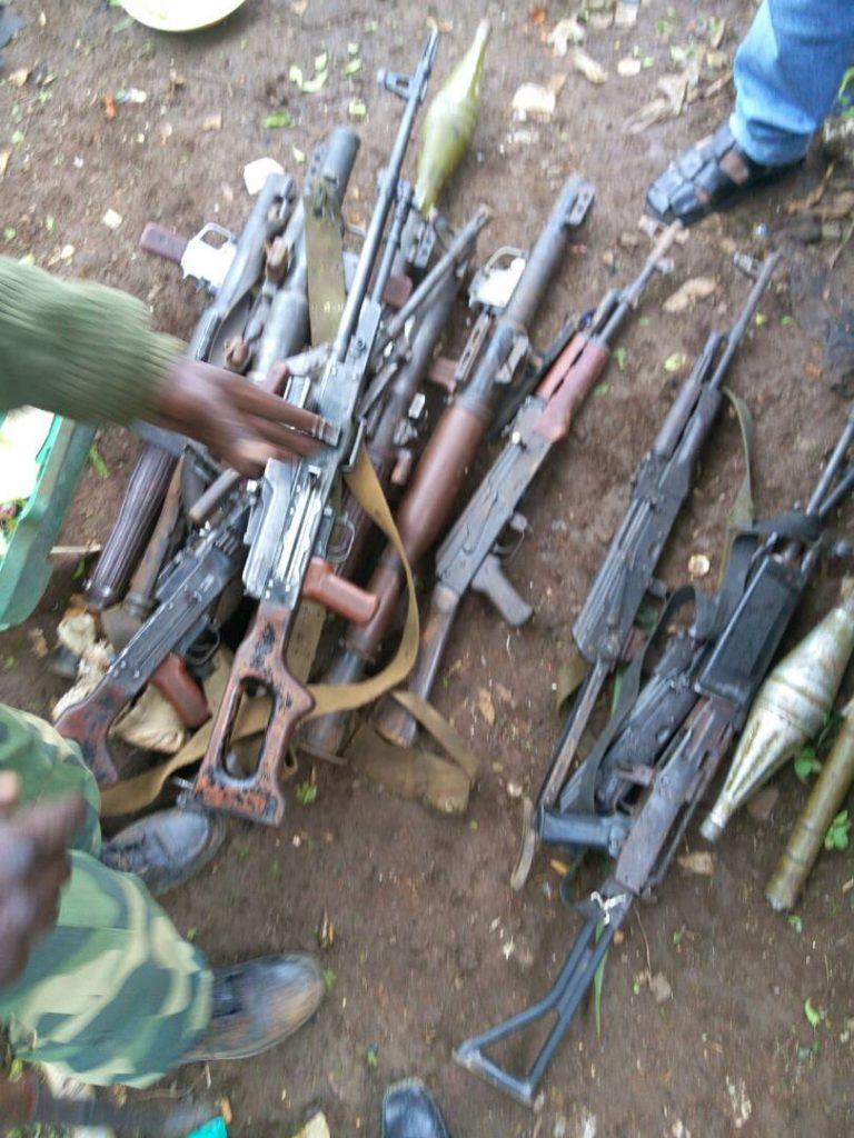 Nord-Kivu: 119 miliciens dont les enfants quittent les groupes armés