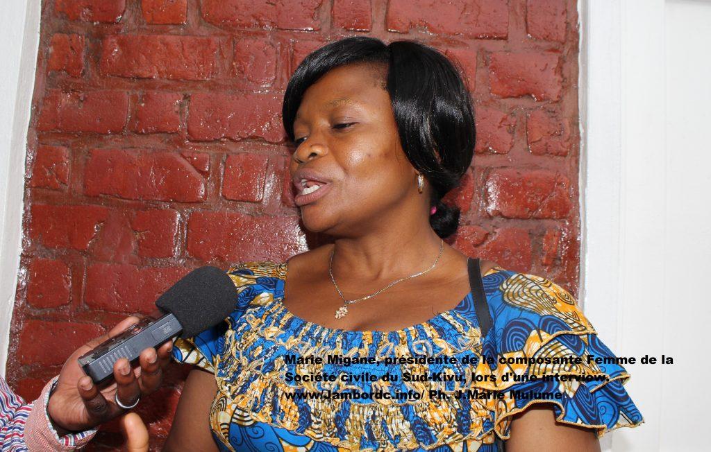 Sécurité au Sud-Kivu : Les femmes de la société civile exigent l'implication personnelle du gouverneur Claude Nyamugabo