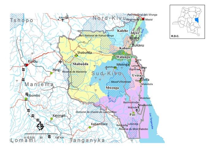 Insécurité : Le territoire de Kabare pleure six morts