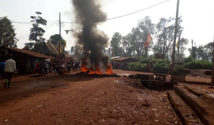 Walungu : Ça chauffe au centre commercial de Mugogo