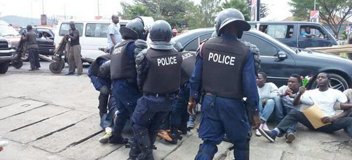 Bukavu : Des interpellations et des biens saisis par la police au quartier Nkafu