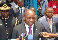 Sud-Kivu : Présentation du gouverneur de la province aux troupes armées
