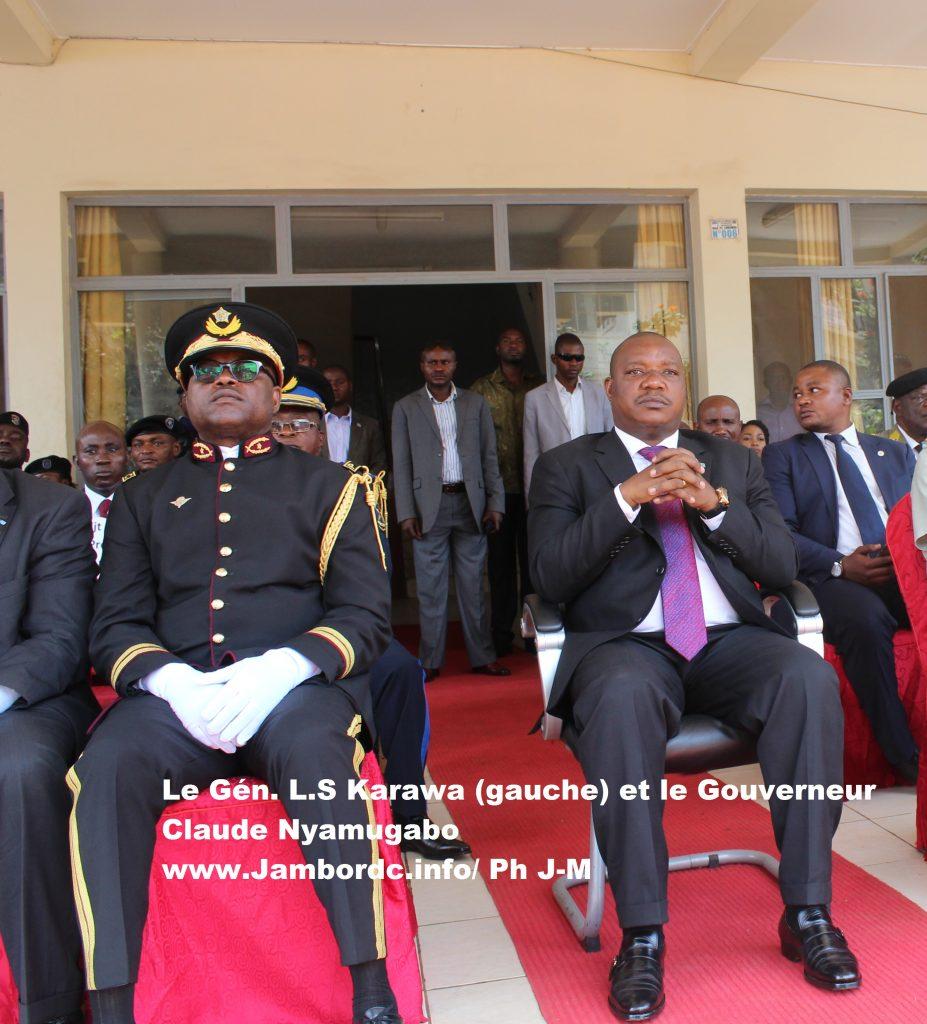 Bouclage à Bukavu: « Jusque-là on a fait que 30% de la ville », révèle le Général Karawa
