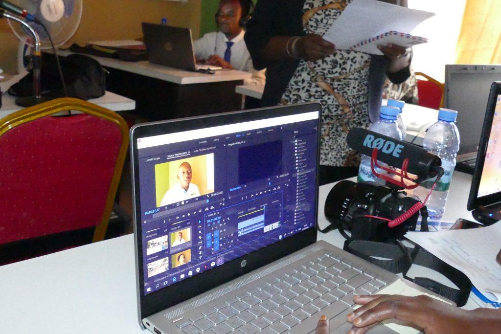 « Nous sommes en mesure de produire une vidéo jusqu'au produit finit », rassure Ishara Masirika (Journaliste)