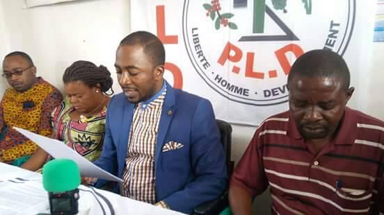 Présidentielle 2018: Le Pld réitère l'appel à l'unité de l'opposition pour battre le candidat du FCC Emmanuel Shadari