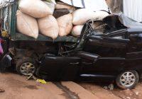 Bukavu : La dispute du volant entre les policiers et le chauffeur conduit à un accident de circulation