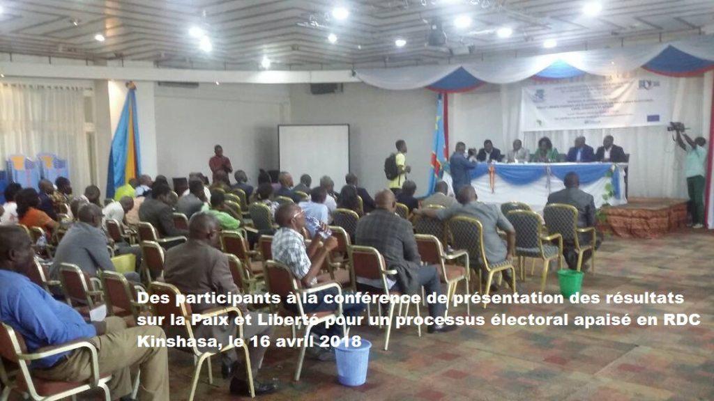 Professeur FUMUNZANZA : « L'étude Paix et liberté pendant les élections dirigée par Karhakubwa est un véritable outil de sensibilisation pour un processus libre, crédible et apaisé en RDC »