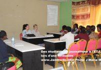 Bukavu : L'ETJ ouvre une nouvelle session en Journalisme, lundi 23 avril 2018