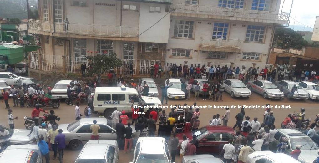 Dossier peinture taxi : La mairie de Bukavu fixe à 70 dollars américains le montant total à payer