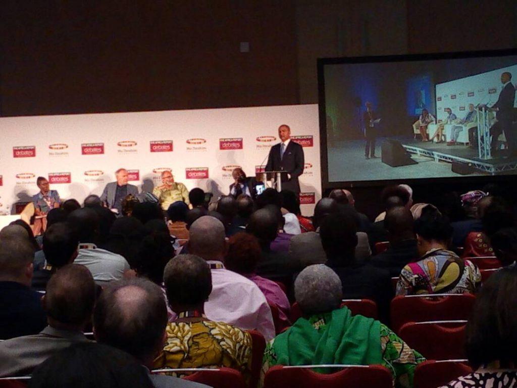 Moïse Katumbi appelle les africains depuis Kigali à vaincre la peur