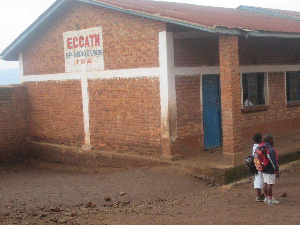 Mbobero (Sud-Kivu)  : Le SYNECATH dit inacceptable la démolition du collège Sainte Anne et en appelle à la création d'une contre-force.