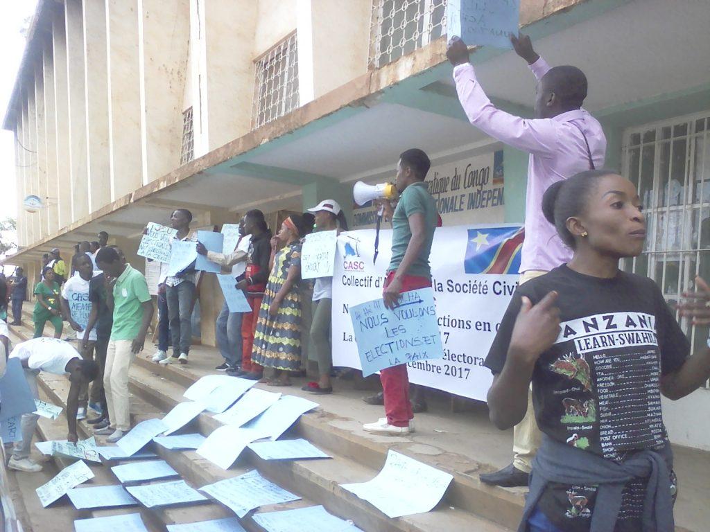 Judith Maroy (Lucha): Depuis que Kabila ne veut pas organiser les élections il y a un flou qui règne au pays